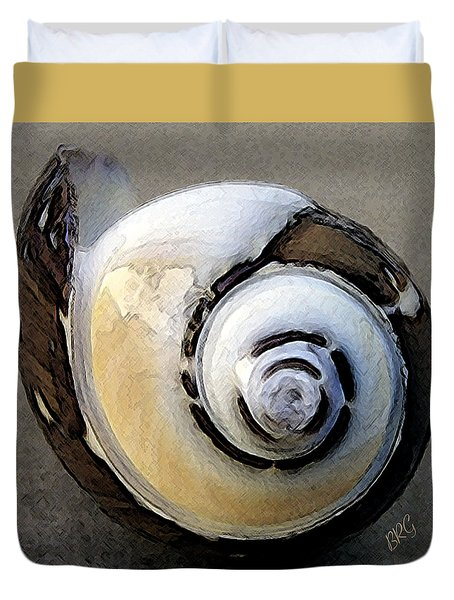 Seashells Spectacular No 3 Duvet Cover by Ben and Raisa Gertsberg