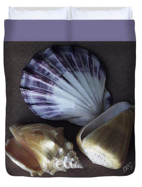 Seashells Spectacular No 30 Duvet Cover by Ben and Raisa Gertsberg