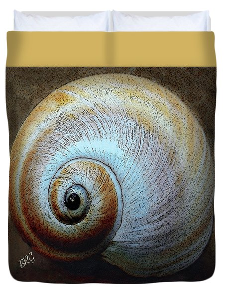 Seashells Spectacular No 36 Duvet Cover by Ben and Raisa Gertsberg
