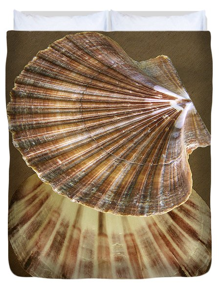 Seashells Spectacular No 54 Duvet Cover by Ben and Raisa Gertsberg