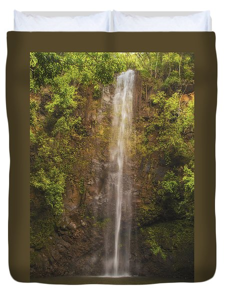 Secret Falls Duvet Cover by Brian Harig