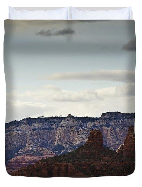 Sedona Landscape Xii Duvet Cover by David Gordon