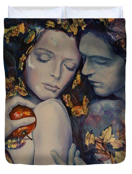 Seduction Duvet Cover by Dorina  Costras