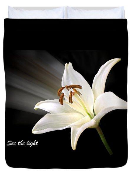 See The Light Duvet Cover by Gill Billington