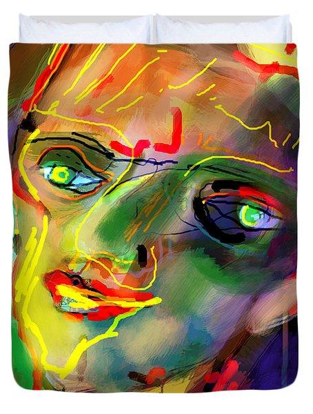 self development 5 Duvet Cover by David Baruch Wolk