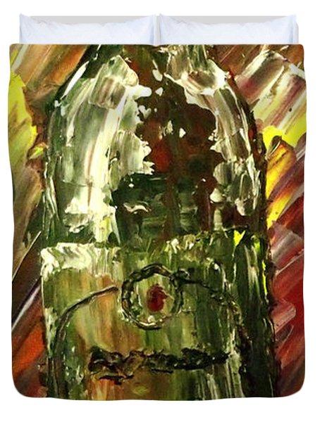 Sensual Explosion Bottle 2 Duvet Cover by Mark Moore