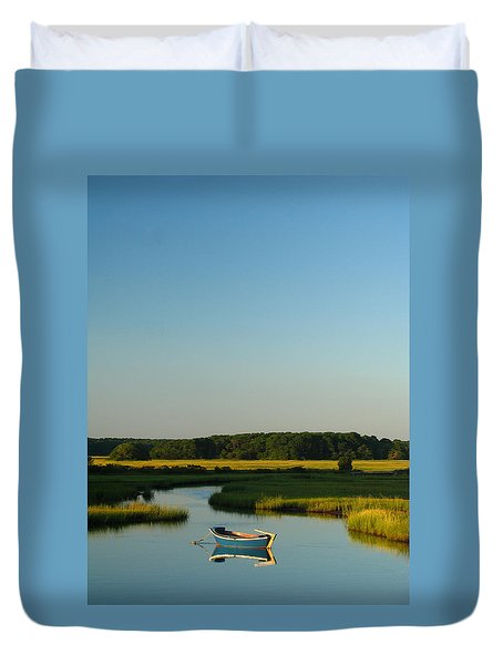 Serene Cape Cod Duvet Cover by Juergen Roth