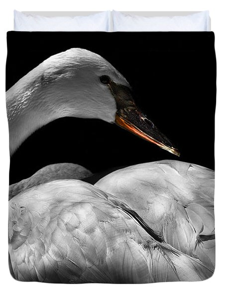Serenity Duvet Cover by Debra and Dave Vanderlaan