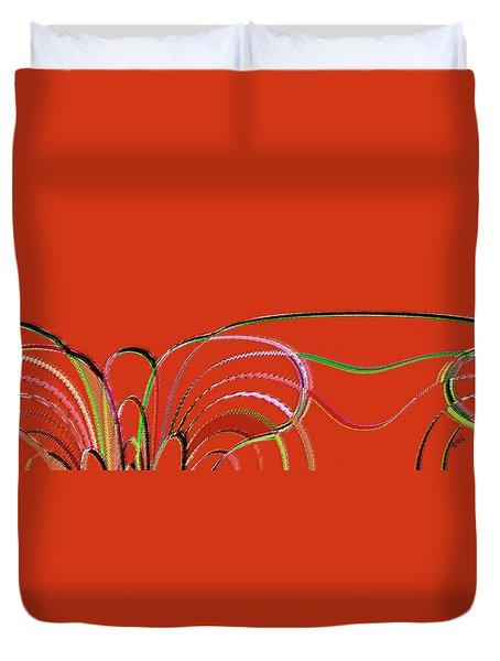 Serpentine Duvet Cover by Ben and Raisa Gertsberg