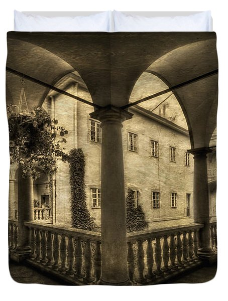 Set Me Free Duvet Cover by Evelina Kremsdorf