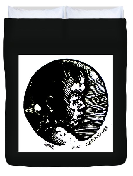 Seth 2 Duvet Cover by Seth Weaver