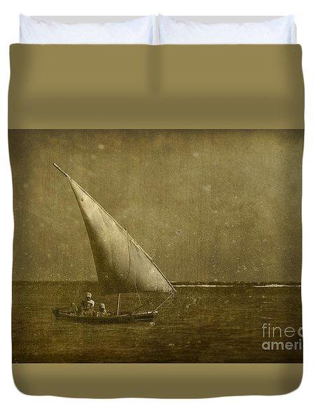 Seven Seas... Duvet Cover by Nina Stavlund