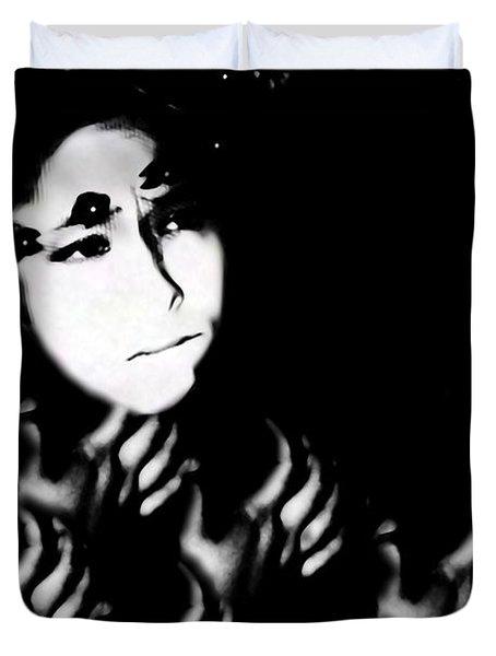 Severe Mental Distress Duvet Cover by Jessica Shelton