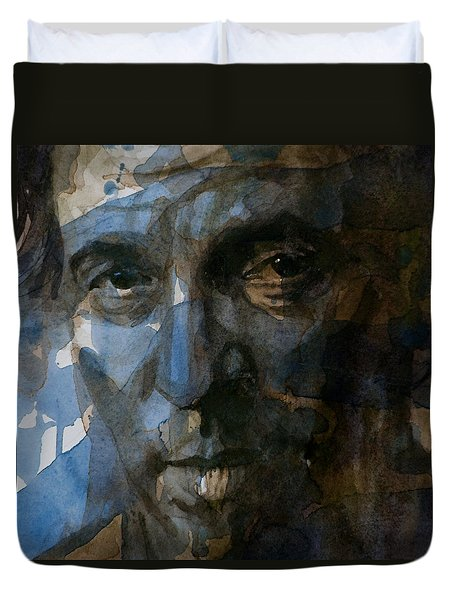 Shackled And Drawn Duvet Cover by Paul Lovering