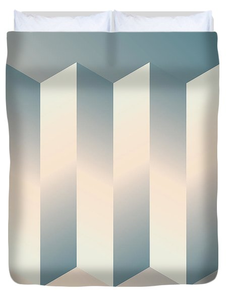 Shaded Columns Duvet Cover by Gary Grayson