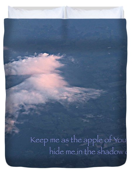 Shadow of Your Wings Duvet Cover by Kume Bryant