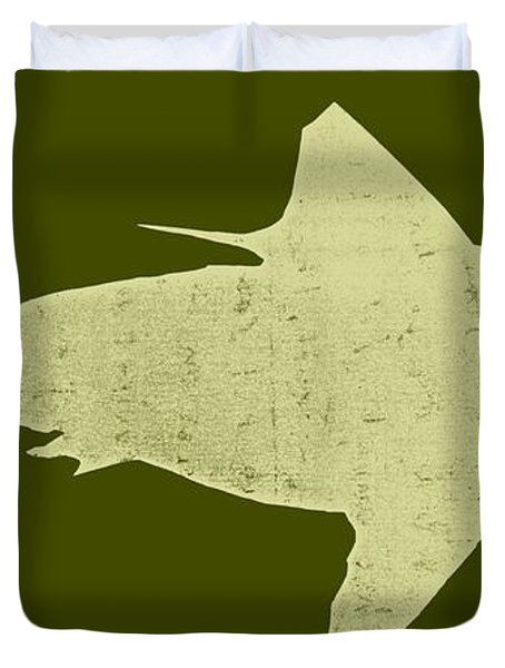 Shark Duvet Cover by Michelle Calkins