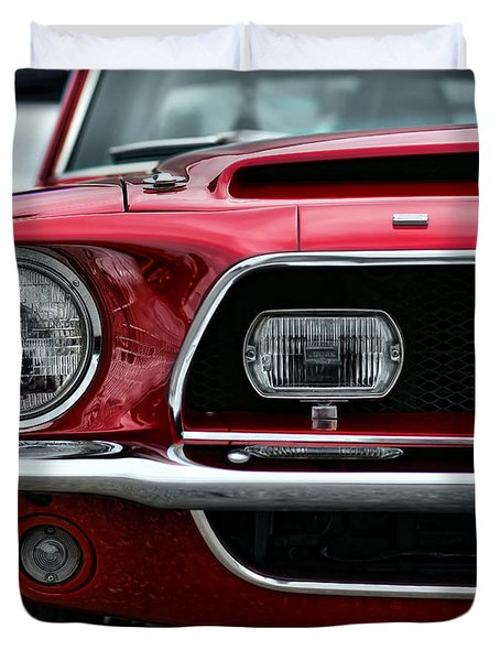 Shelby Mustang Duvet Cover by Gordon Dean II