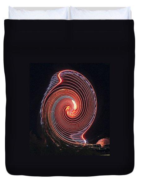 Shell Swirl Duvet Cover by Marian Bell