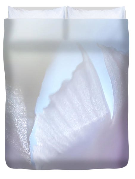 Shimmering Light. Iris Series Duvet Cover by Jenny Rainbow