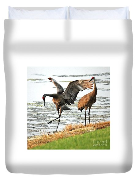 Showoff Duvet Cover by Carol Groenen
