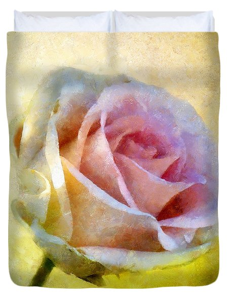 Shy Underneath Duvet Cover by RC DeWinter