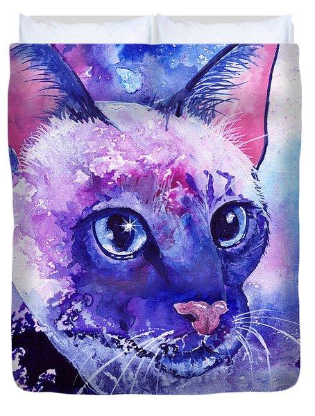 Siamese Fantasy Duvet Cover by Sherry Shipley