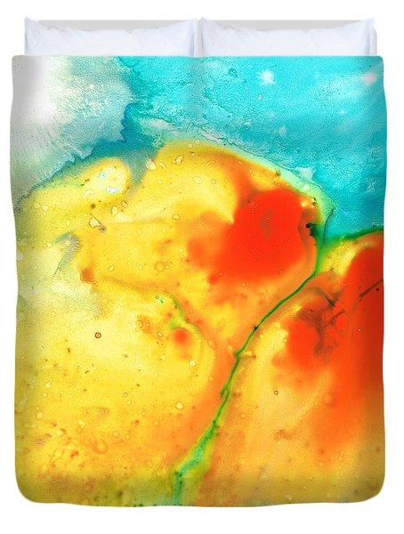 Siesta Sunrise Duvet Cover by Sharon Cummings