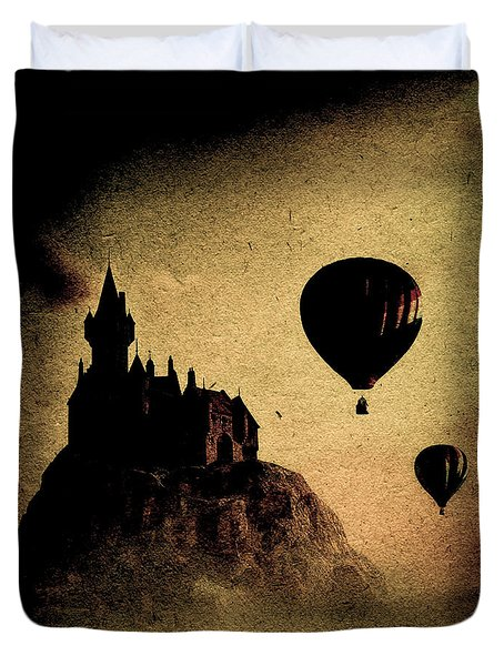 Silent Journey  Duvet Cover by Bob Orsillo