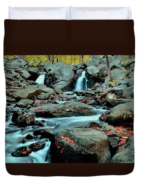 Silky Water 3 Duvet Cover by Allen Beatty