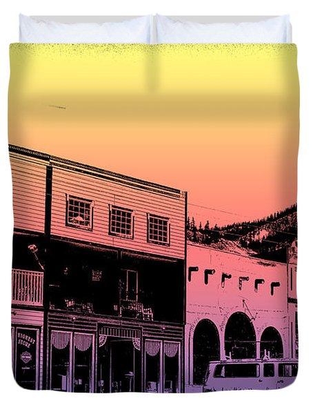 Silverton Colorado Duvet Cover by Janice Rae Pariza
