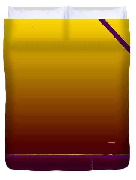 Simple Geometry - 4 Duvet Cover by Lenore Senior