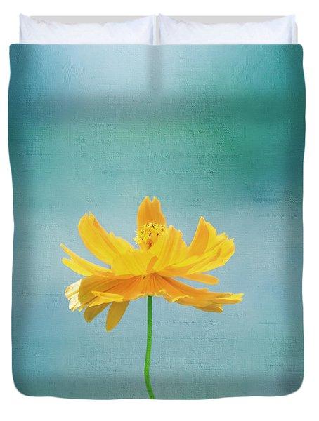 Simplicity Duvet Cover by Kim Hojnacki