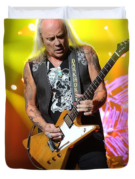 Skynyrd-Rickey-7998 Duvet Cover by Gary Gingrich Galleries
