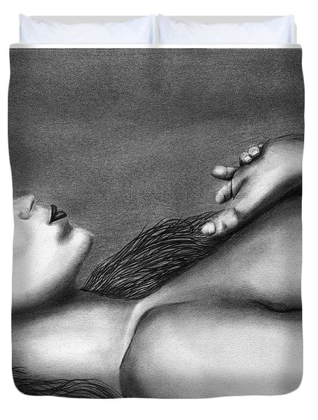 Sleeping Beauty  Duvet Cover by Peter Piatt