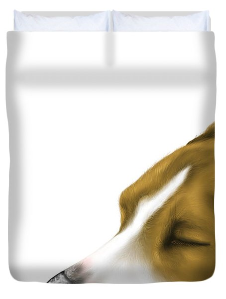 Sleeping Duvet Cover by Veronica Minozzi