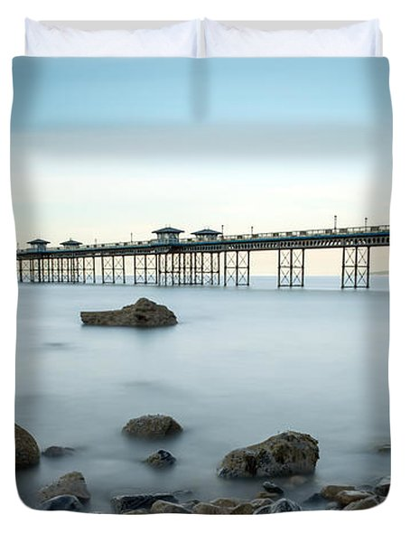Smooth Waters Duvet Cover by Adrian Evans