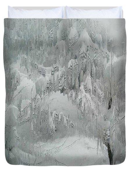 Snowland Duvet Cover by Kume Bryant
