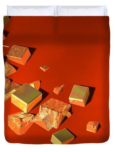 So Shiny Duvet Cover by Andreas Thust