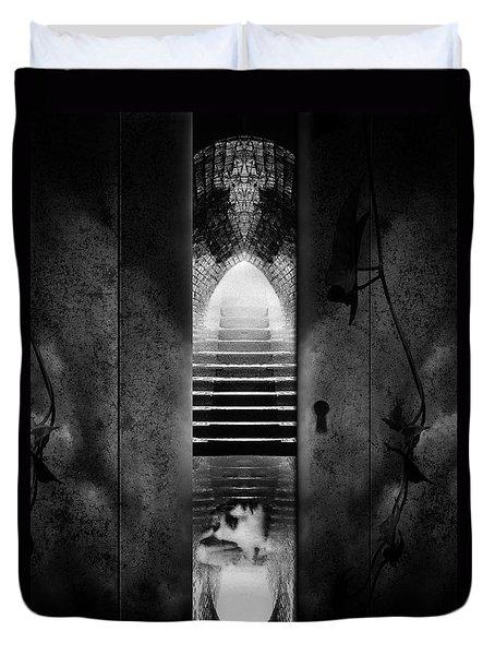Soft Asylum Duvet Cover by Bob Orsillo
