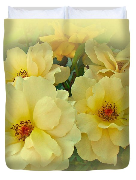 Softly And Sweetly Duvet Cover by Mother Nature