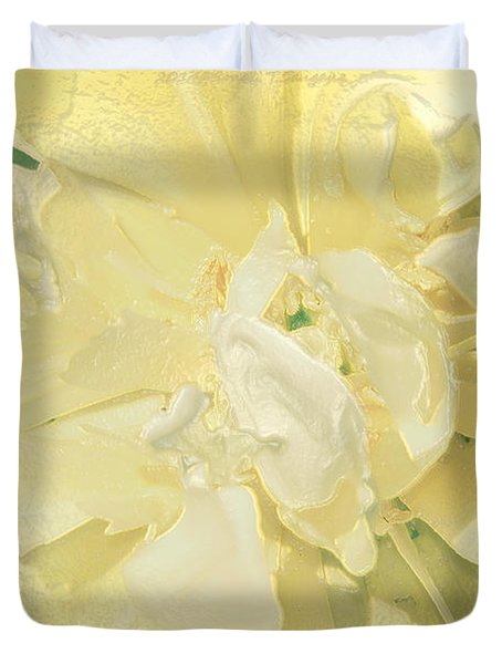 Soothing Daffodils Duvet Cover by Sonali Gangane
