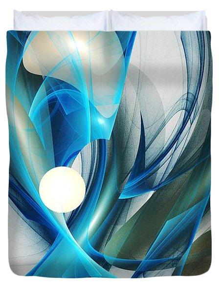 Soul Blueprint Duvet Cover by Anastasiya Malakhova