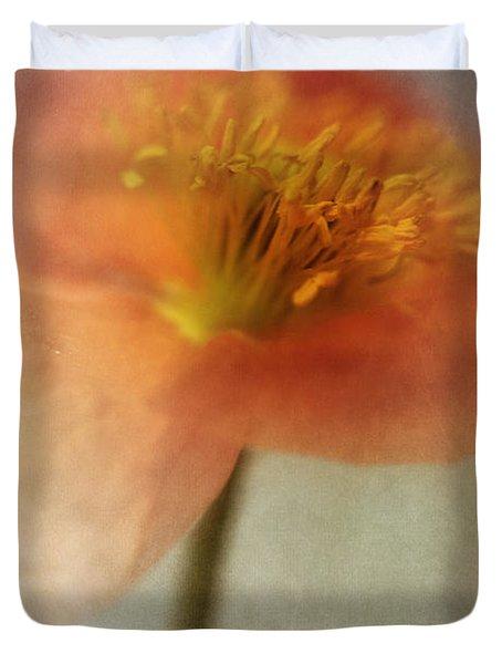 Soulful Poppy Duvet Cover by Priska Wettstein
