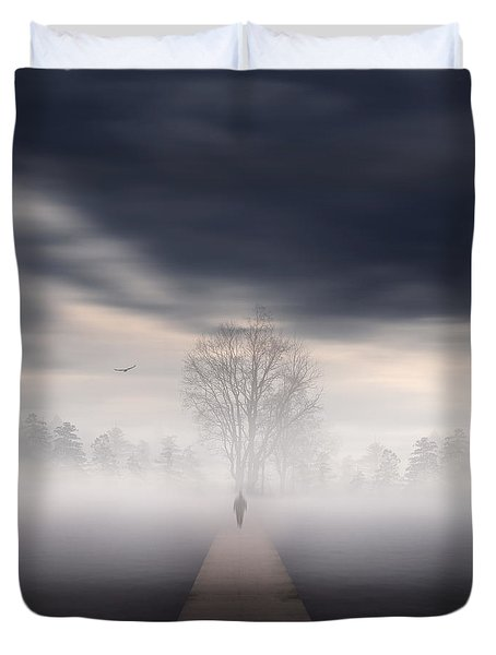 Soul's Journey Duvet Cover by Lourry Legarde