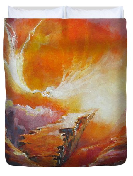 Sound Of Heaven Duvet Cover by Tamer and Cindy Elsharouni