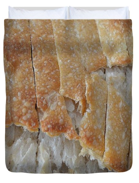 Sourdough Crust Duvet Cover by Mary Deal