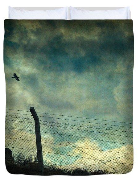 Southwester Duvet Cover by Taylan Soyturk