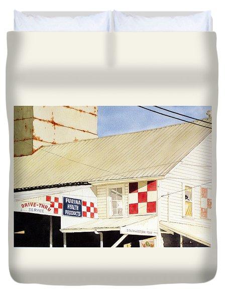 Southwestern Feed Duvet Cover by Jim Gerkin