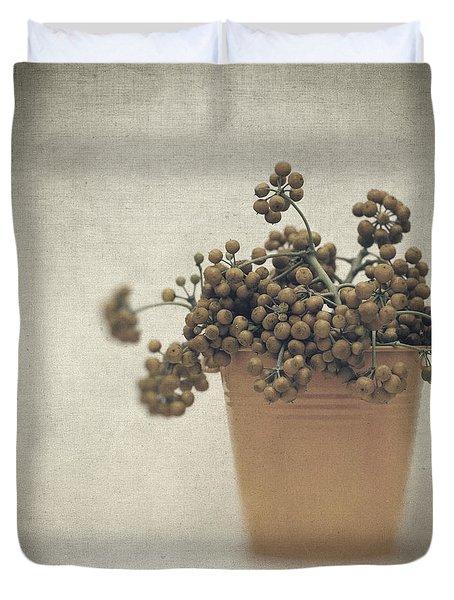 Souvenirs De Demain Duvet Cover by Taylan Apukovska